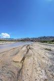 Las Flechas峡谷在萨尔塔,阿根廷。 免版税库存照片