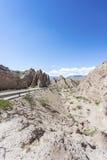 Las Flechas峡谷在萨尔塔,阿根廷 库存照片