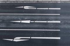 Las flechas Imagen de archivo