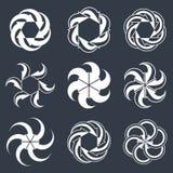 Las flechas del bucle infinito vector el símbolo abstracto, gráfico Imágenes de archivo libres de regalías