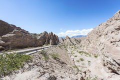Las Flechas Gorge in Salta, Argentina. Royalty Free Stock Image