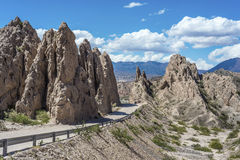 Las Flechas Gorge in Salta, Argentina. Stock Photography