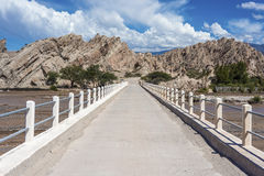 Las Flechas Gorge in Salta, Argentina. Royalty Free Stock Images