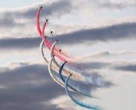 Las flechas rojas Foto de archivo libre de regalías