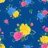 Las flores abstractas subieron 04-01 Imagenes de archivo