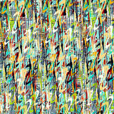 Las flores brillantes abstractas en un fondo ligero vector el ejemplo Foto de archivo libre de regalías