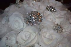 Las flores de la novia de la boda Fotos de archivo