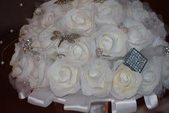 Las flores de la novia de la boda Imagen de archivo
