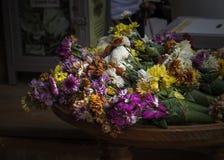 Las flores son coloridas para la adoración Imagen de archivo libre de regalías