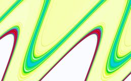 Las formas de ondas beige lisas abstractas, ponen en contraste el fondo abstracto imagen de archivo libre de regalías