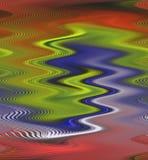 Las formas de ondas flúidas, fondo vivo, encienden el fondo, colores, gráficos abstractos de las sombras Fondo y textura abstract ilustración del vector