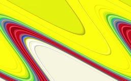 Las formas de ondas lisas abstractas, ponen en contraste el fondo abstracto imágenes de archivo libres de regalías