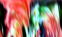 Las formas flúidas azules violetas rosadas multicoloras, geometrías flúidas borrosas, resumen el fondo creativo imagen de archivo