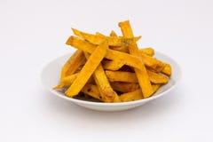 Las fritadas de la patata dulce o del kumara llamaron el producto del camote de Suramérica Es una planta dicotiledonea que perten Fotografía de archivo libre de regalías