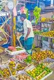 Las frutas en el mercado de Fose Fotos de archivo