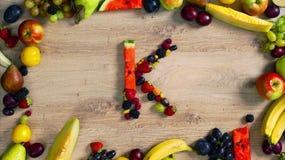 Las frutas hicieron la letra K metrajes