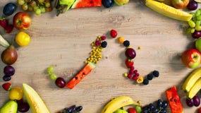 Las frutas hicieron la letra M metrajes