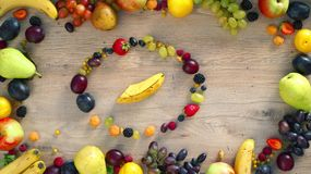 Las frutas hicieron la letra N metrajes
