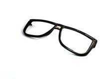 Las gafas de sol viejas negras son decisivas Imágenes de archivo libres de regalías