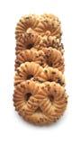 Las galletas con la amapola Foto de archivo libre de regalías