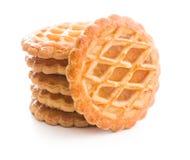 Las galletas de la empanada de manzana Imagen de archivo libre de regalías