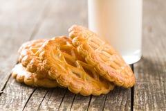 Las galletas de la empanada de manzana Fotografía de archivo libre de regalías