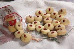 Las galletas de Shrewsbury, galletas de Maida, untan con mantequilla las galletas inglesas Fotos de archivo libres de regalías
