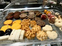 Las galletas dulces turcas llamaron Landose imagenes de archivo