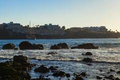 Las-galletas Küste Lizenzfreies Stockfoto