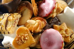 Las galletas se cierran para arriba Imagenes de archivo
