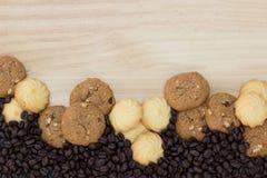 Las galletas son pedazos Imagenes de archivo