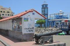 Las Galletas, Tenerife, España - 10 de junio de 2012 Fotografía de archivo libre de regalías