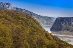 Las gargantas de Danubio Imagenes de archivo