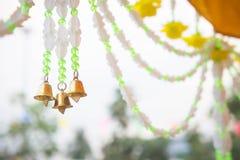 Las gotas de Bell que adornan el festival son un evento anual en el cou Foto de archivo libre de regalías