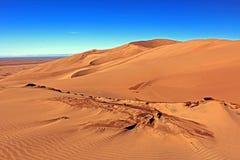 Las grandes dunas de arena Foto de archivo