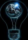 Las grandes ideas pueden mover el mundo Foto de archivo libre de regalías