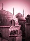Las grandes mezquitas Imágenes de archivo libres de regalías