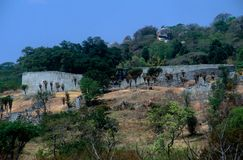 Las grandes ruinas de Zimbabwe Foto de archivo libre de regalías