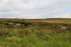 Las hermosas vistas y la formación de la nube, North Yorkshire amarra Imagen de archivo libre de regalías