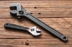 Las herramientas de la mano Foto de archivo libre de regalías