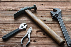 Las herramientas de la mano Fotografía de archivo