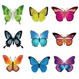 Las historietas del vector de la mariposa diseñan vector libre illustration