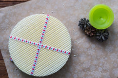 Las hojas de la galleta Foto de archivo libre de regalías