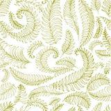 Las hojas de palma tropicales, selva salen del fondo inconsútil del estampado de flores del vector ilustración del vector