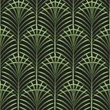 Las hojas de palma vector el modelo inconsútil libre illustration