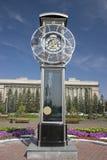 Las horas urbanas grandes. Fotografía de archivo