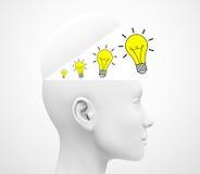 Las ideas Imagen de archivo libre de regalías