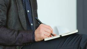 Las ideas del planificador del día del individuo del negocio proyectan estrategia