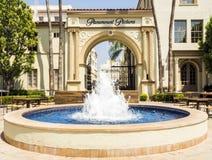 Las imágenes de los estudios de Paramount dentro de la puerta Hollywood viajan el 14 de agosto de 2017 - Los Ángeles, LA, Califor imagenes de archivo