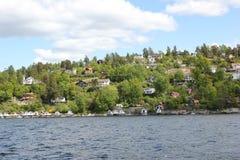 Las islas de la montaña Fotografía de archivo libre de regalías